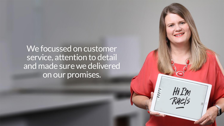 Raeleen - Customer Service | Mettro