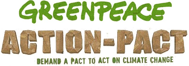 Greenpeace Action Pact logo