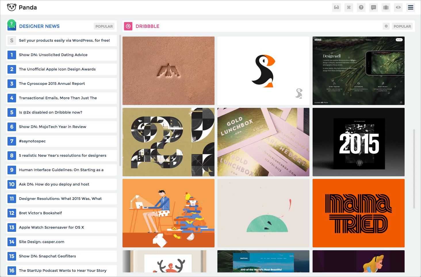 Design Inspiration - Panda 4