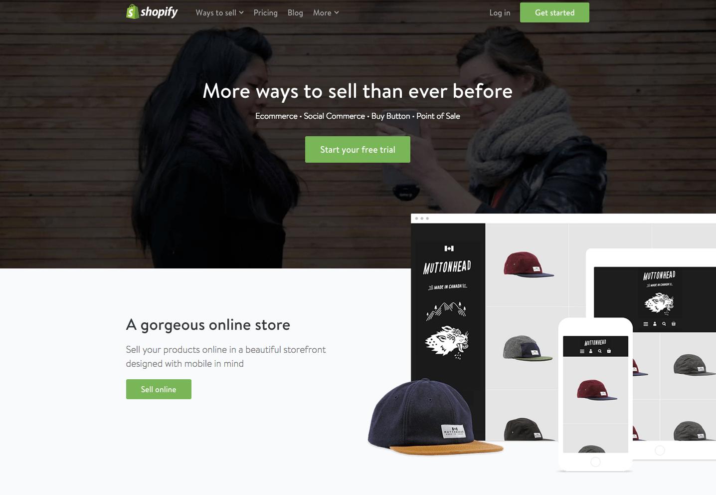 e-Commerce Platforms - Shopify