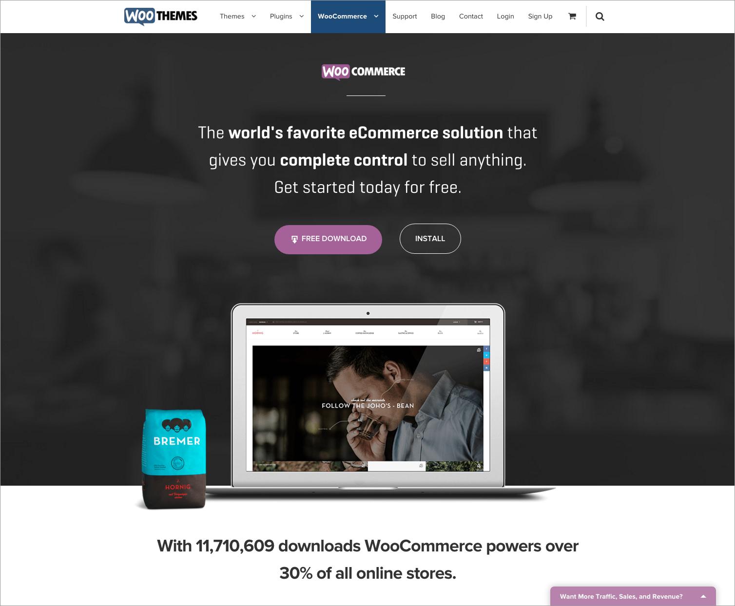 e-Commerce Platforms - Woocommerce