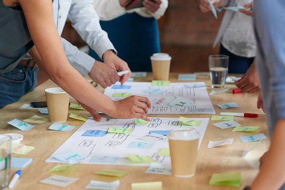 Corporate website - Planning