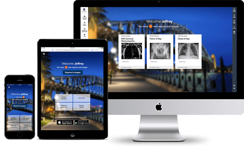 Castlereagh Imaging - Website Preview