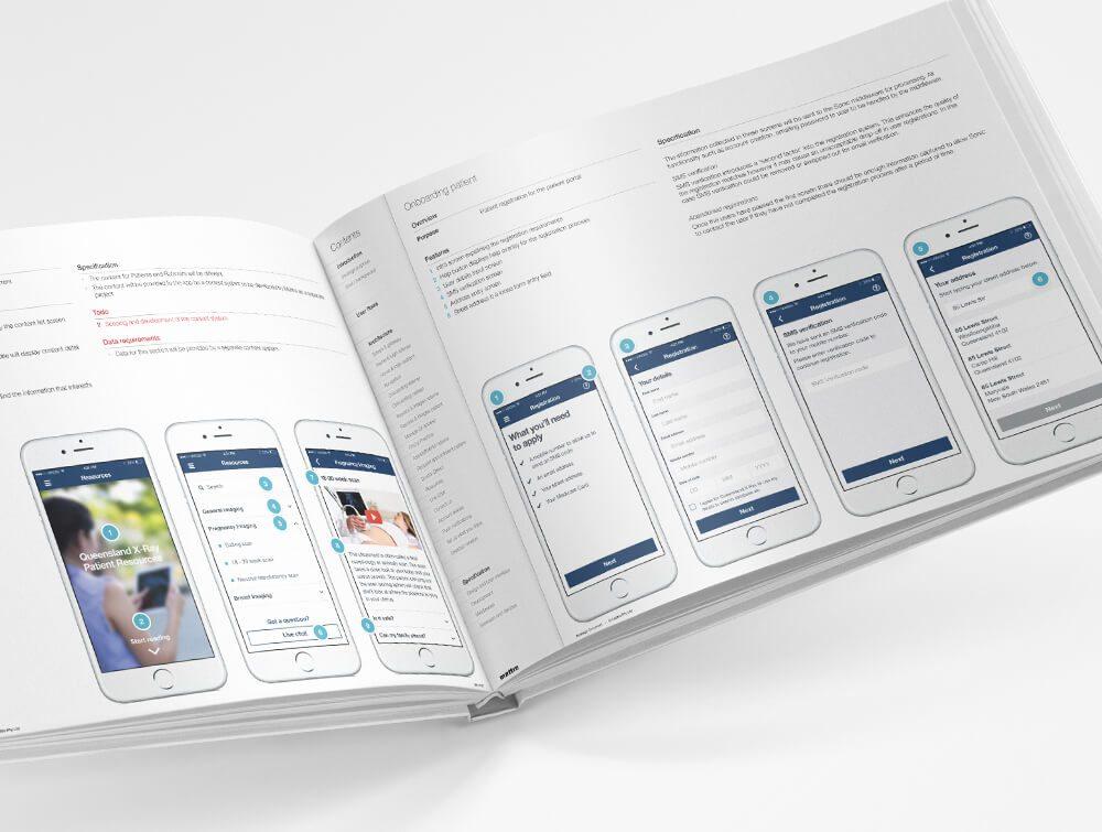 Website Mobile Interface - Sonic Healthcare   Mettro