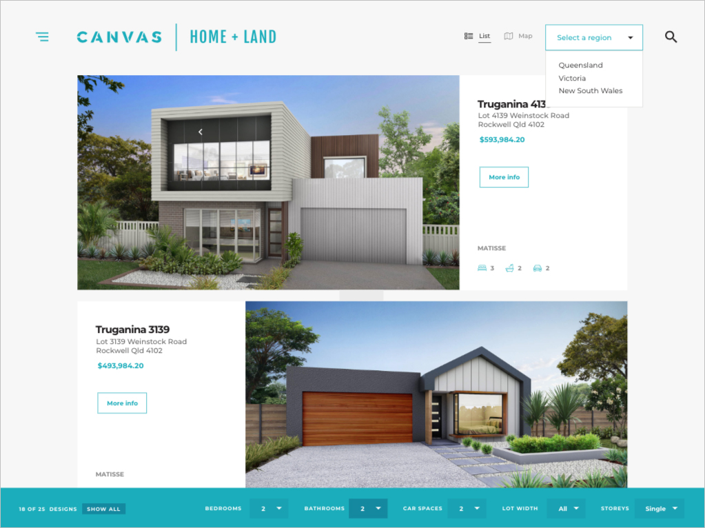 Website Preview - Canvas Website