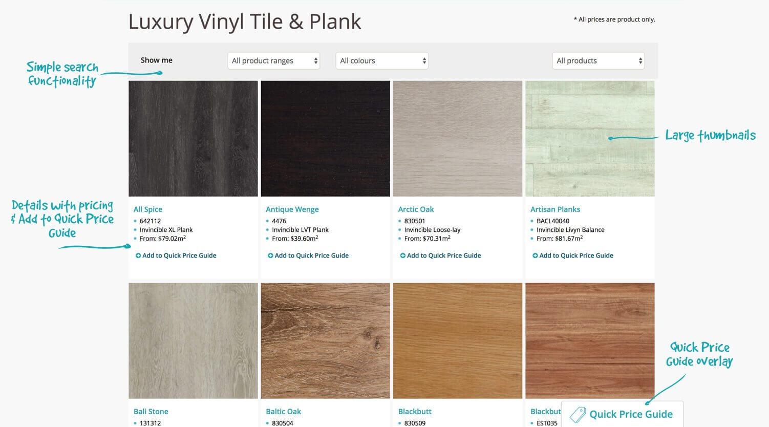 User Interface - Website Development | Carpet One