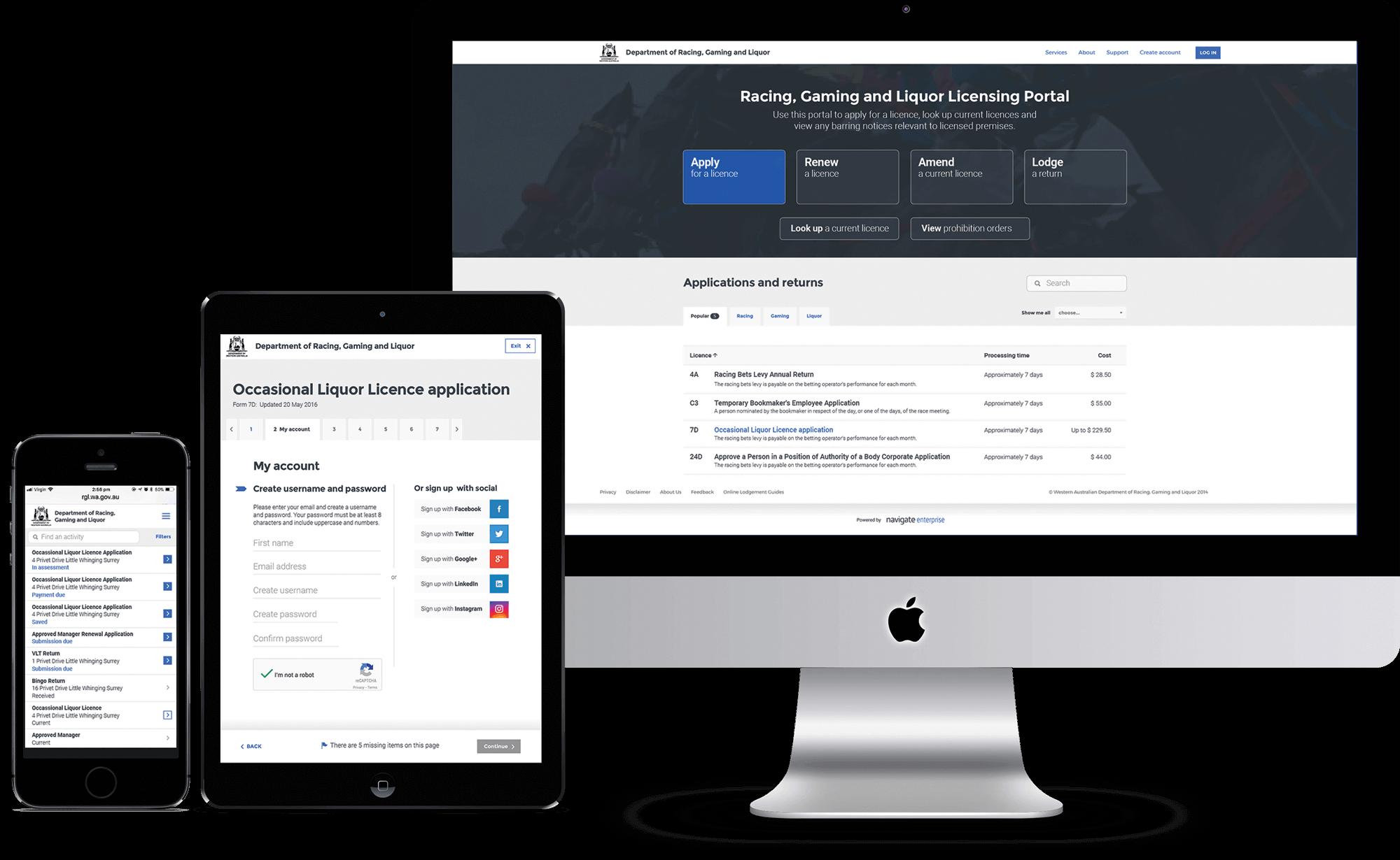Licensing Portal - Website Overview | Mettro