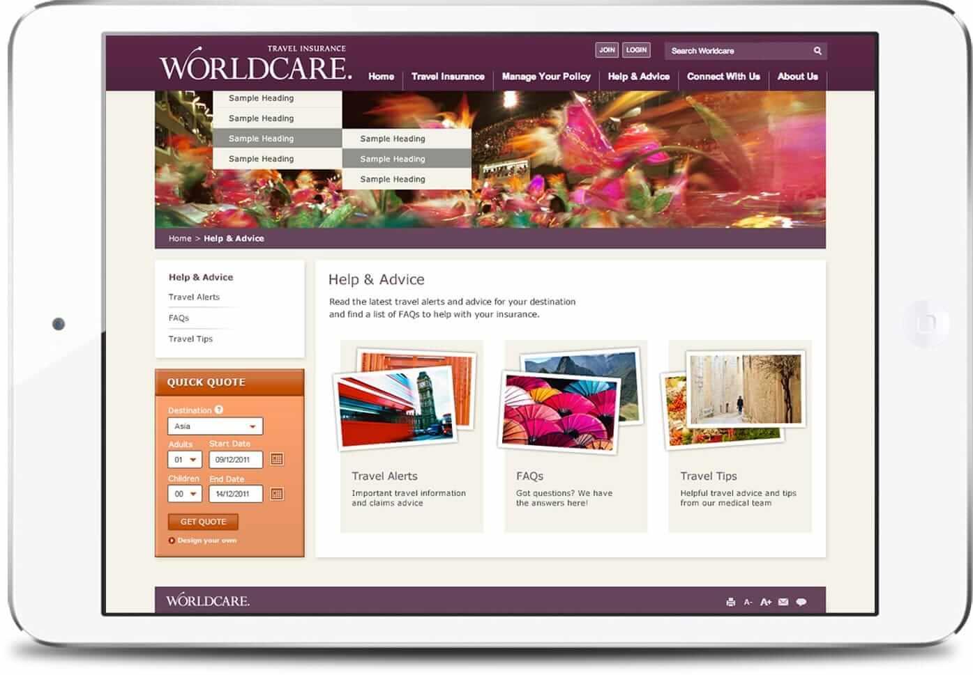 worldcare-ipad