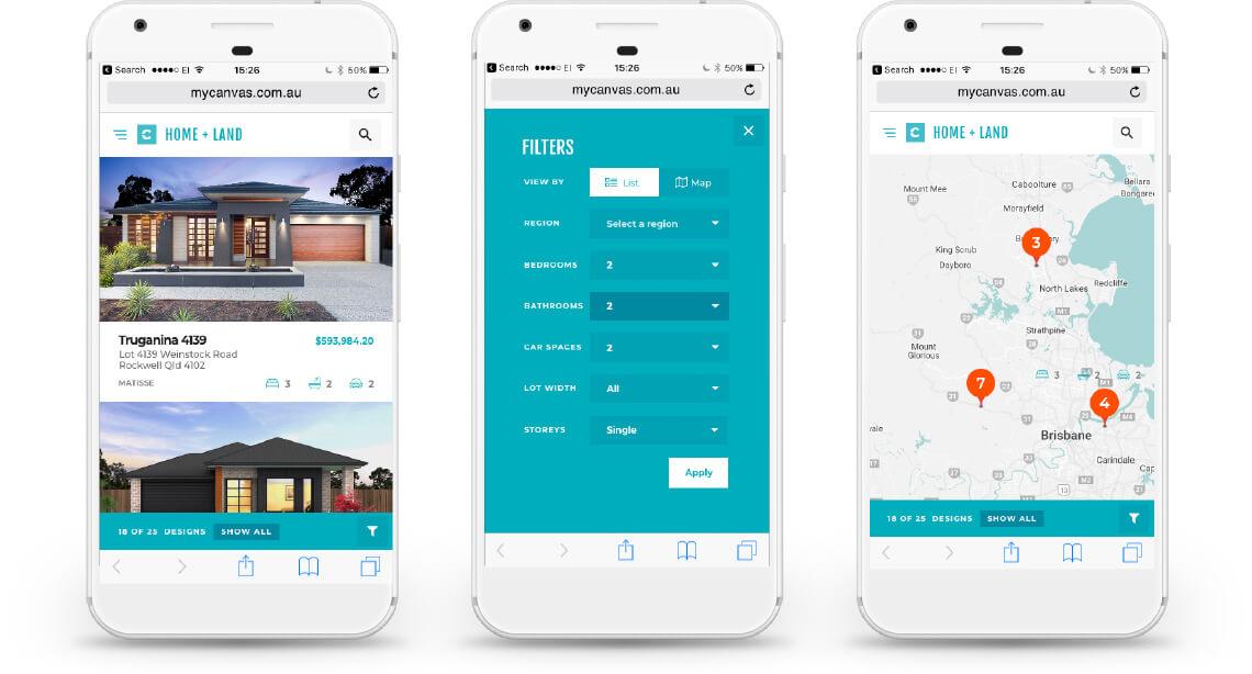 Canvas Website - Mobile View   Mettro