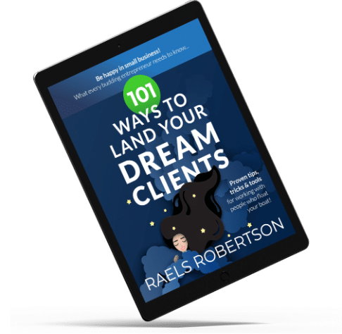 101 Ways to land your Dream Clients-iPad